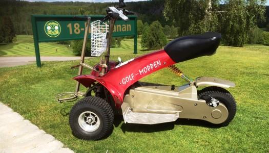 Hyr golfmoppen